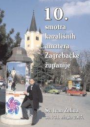 10. smotra kazališnih amatera Zagrebačke županije - Culturenet