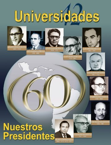 Revista Universidades Número 42, Julio - Septiembre de 2009 - udual