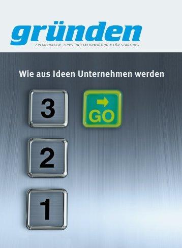 Wie aus Ideen Unternehmen werden - Stier Communications AG ...