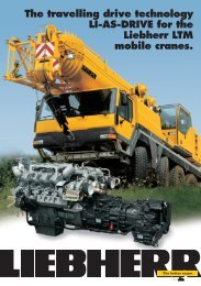 The travelling drive technology LI-AS-DRIVE for the Liebherr LTM ...