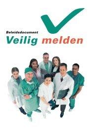 Download het Beleidsdocument Veilig melden - VMS