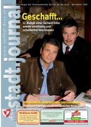 Ausgabe Dezember - Spittal an der Drau