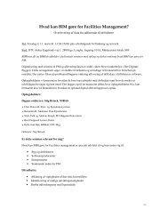 Hvad kan BIM gøre for Facilities Management? - Dansk Facilities ...