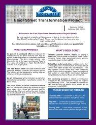 February 2008 Newsletter - Bloor-Yorkville
