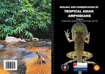 biology and conser va tion of tropical asian amphibians