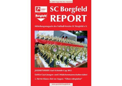 TURN- UND SPORTVEREIN BORGFELD VON ... - SC Borgfeld e.V.