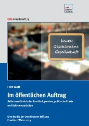 Fritz Wolf: Im öffentlichen Auftrag - Welt der Arbeit