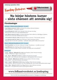September 2012 - Folkuniversitetet