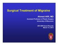 Surgery for Migraine Headaches