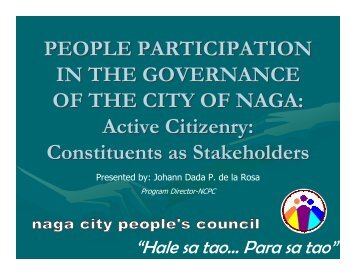 Naga City People's Council