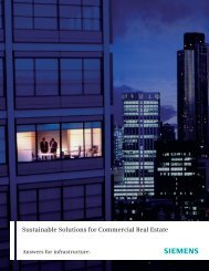 Sustainable Solutions for Commercial Real Estate - Siemens