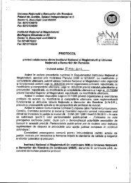 Protocol INM_UNBR.pdf - Institutul Naţional al Magistraturii