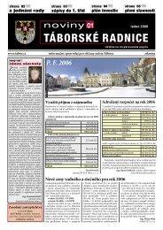 Noviny Táborské Radnice 2006