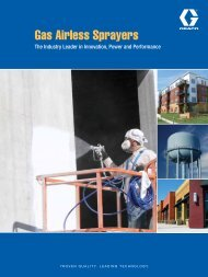 Gas Airless Sprayers Brochure - CH Reed Inc.