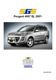 4007 Typ V ab Bj. 2007 - SGS