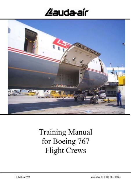 Training Manual For Boeing 767 Flight Crews IK4HDQ