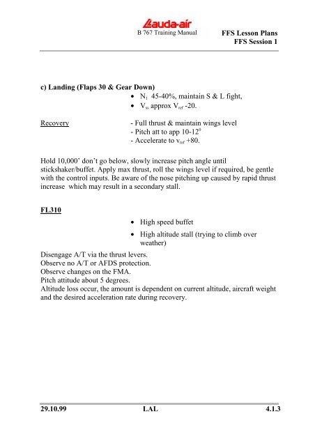 b767 training manual on