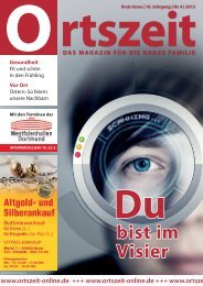 Ausgabe April 2012 - Ortszeit