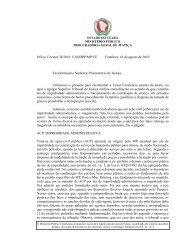 Ofício Circular Nº 038/2010 - Ministério Público do Estado do Ceará