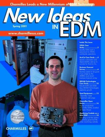 Charmilles Leads a New Millennium of EDM Technology - GF ...