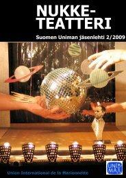 Suomen Uniman jäsenlehti 2/2009 - Unima.nu