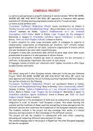 Presentazione del Progetto - Circolo Didattico Figline Valdarno