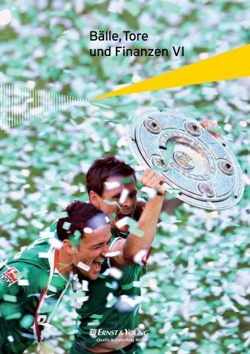 Bälle, Tore und Finanzen VI (2009) - SPONSORs