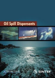 Oil spill dispersant article