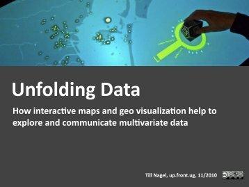 Unfolding Data - Till Nagel