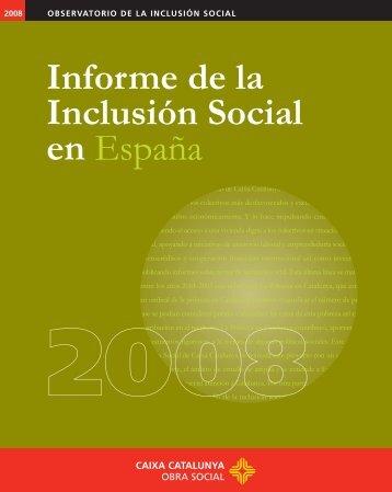 Informe de la Inclusión Social en España - socialmobility.eu