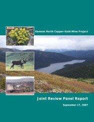 Kemess-South-EA-Repo.. - The Environmental Law Centre
