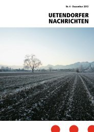 UN_2013_4 [PDF, 5.00 MB] - Gemeinde Uetendorf