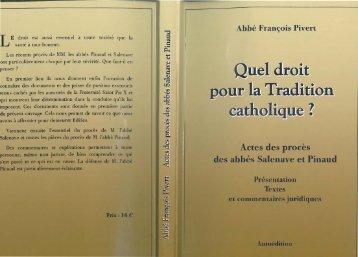 Pivert+Quel+droit+pour+la+Tradition+catholique