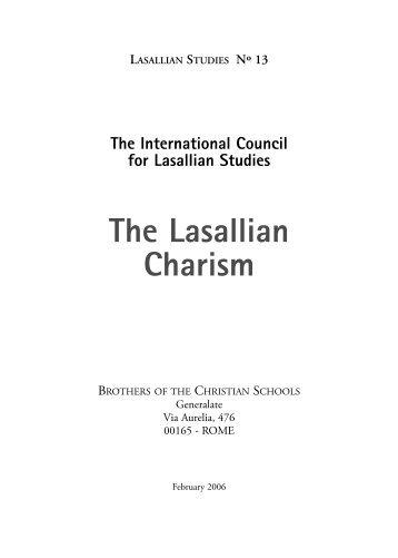 I. Charism - La Salle.org