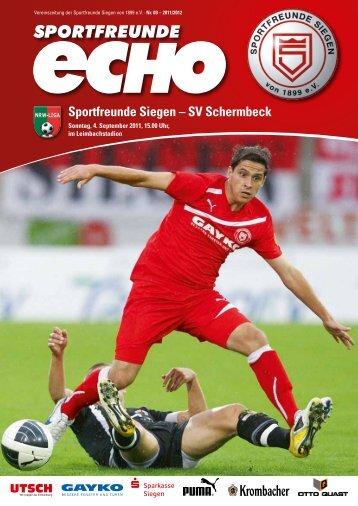 Sportfreunde Siegen – SV Schermbeck