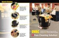 DVAC Cleaning System Brochure - Parish Maintenance Supply