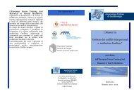 """I Master in """"Gestione dei conflitti interpersonali e mediazione familiare"""""""