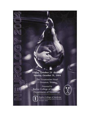 Neurology Bro 2004 - CME Activities
