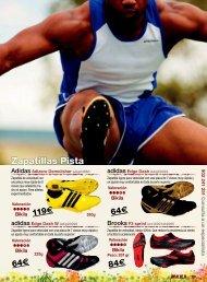 Zapatillas Pista - Sportlife.es