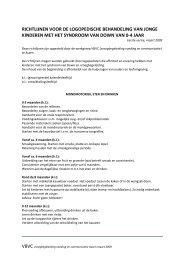 Richtlijnen logopedische begeleiding van kinderen met ...