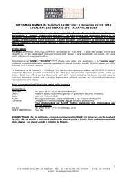 2012 Settimana bianca - Istituto Orsoline S.Angela Merici a Milano