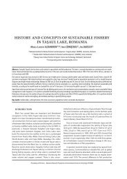 History and concepts of sustainable fisHery in taşaul ... - GeoEcoMar