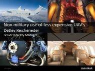 Non military use of less expensive UAV's - BCI Aerospace