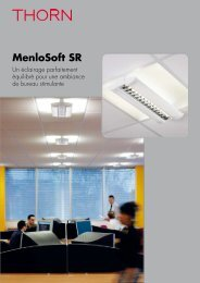 MenloSoft SR - THORN Lighting