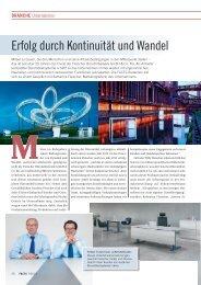 Branche: Erfolg durch Kontinuität und Wandel - FACTS Verlag GmbH