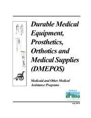 Durable Medical Equipment - PHS org