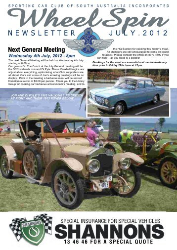 Download this publication. - Sporting Car Club of SA Inc