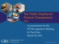 The Public Employees Pension Transparency Act