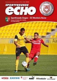 Sportfreunde Siegen – SC Westfalia Herne