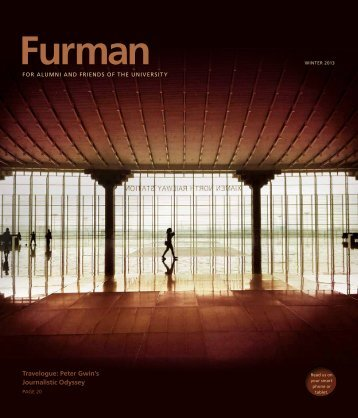 Travelogue: Peter Gwin's Journalistic Odyssey - Furman University